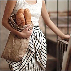 Anthropologie Eva Franco Aniseed striped skirt 0